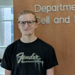 Undergraduate researcher Andrew Kurth