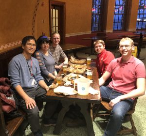 Drinks at the Union- Nov 9, 2018